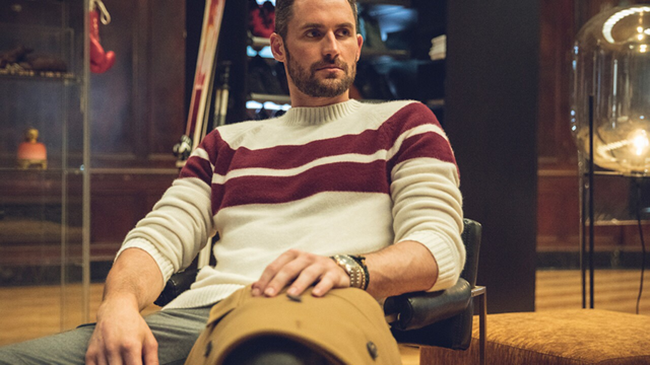 Kevin Love is the newest face of Banana Republic