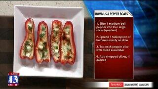 Hummus & PepperBoats