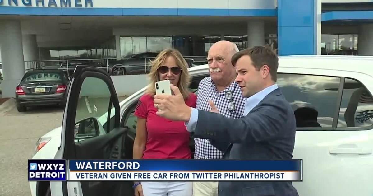 Pulte CEO gifts metro Detroit veteran new car