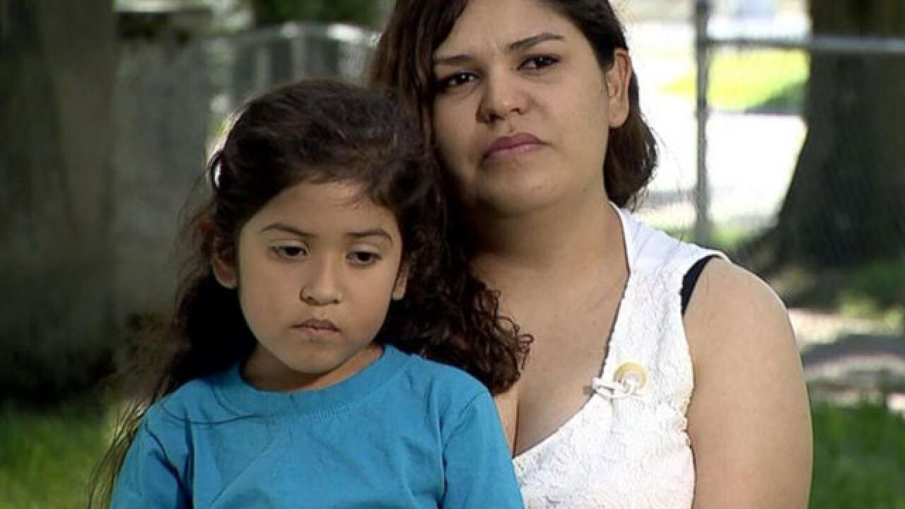 'It's inhumane what they're doing,' says mother separated from daughter at the border