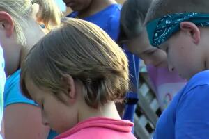 Prayer vigil held for 10-year-old who died of rare amoeba