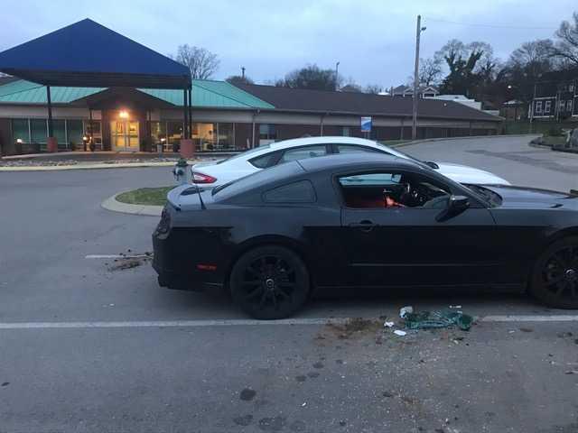 Photos: Nursing Home Employees Report Vehicle Vandalism