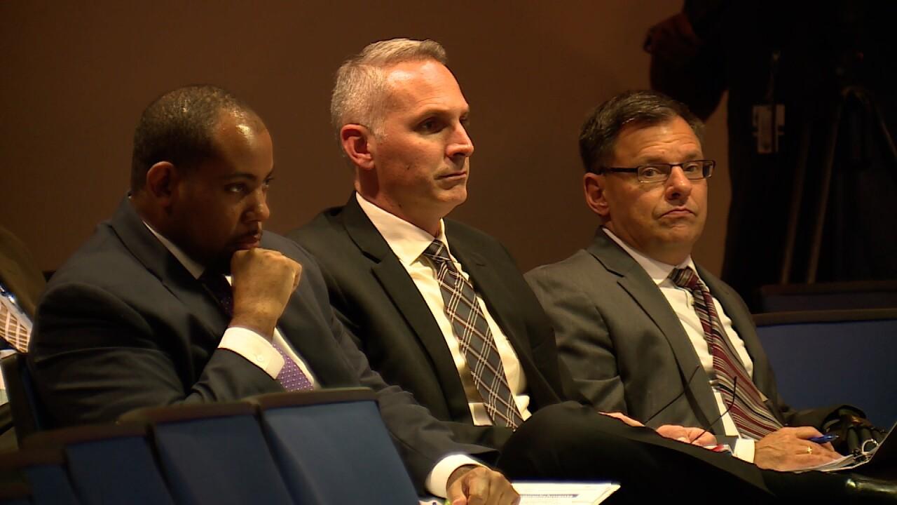 Phil Canto, FLDOE Bureau Chief (center)
