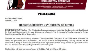 Photos: Jay Gruden out as Washington Redskins headcoach