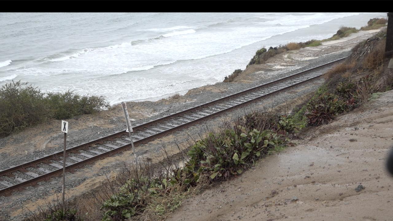 Del Mar Train Tracks 12 4 2019
