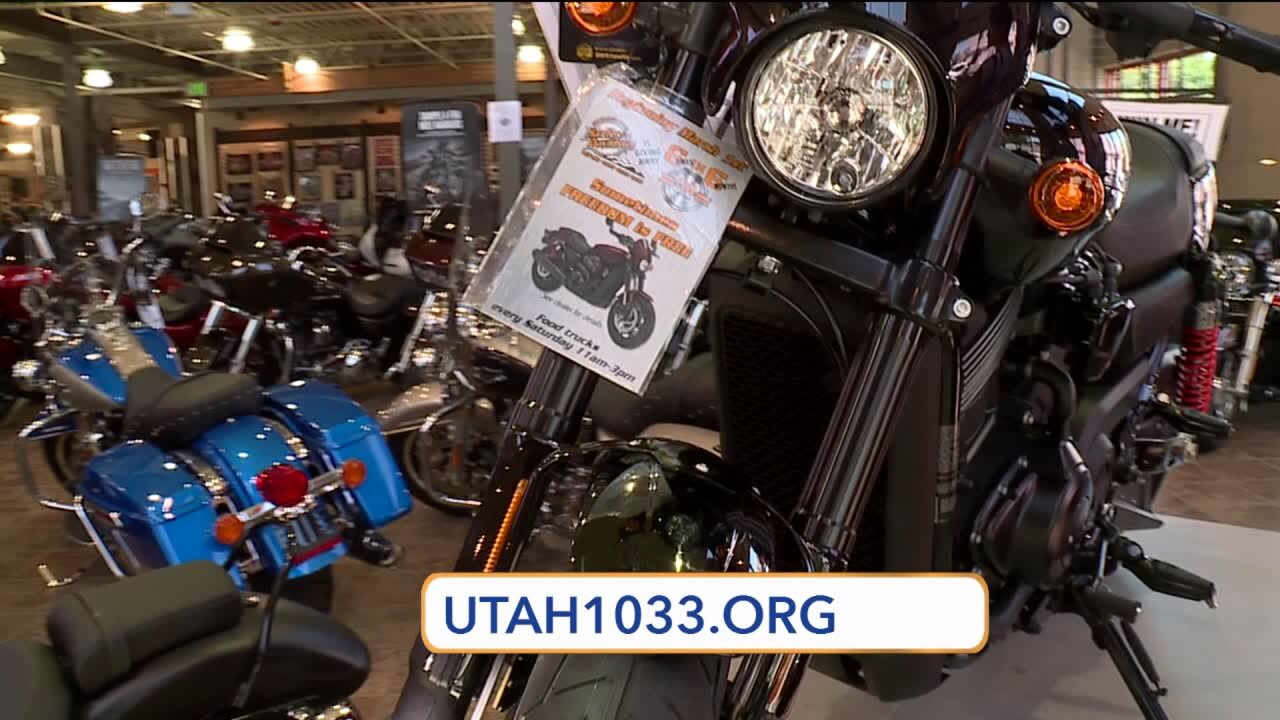 Don't miss the 1033 ride that benefits the families of Utah's fallen officers