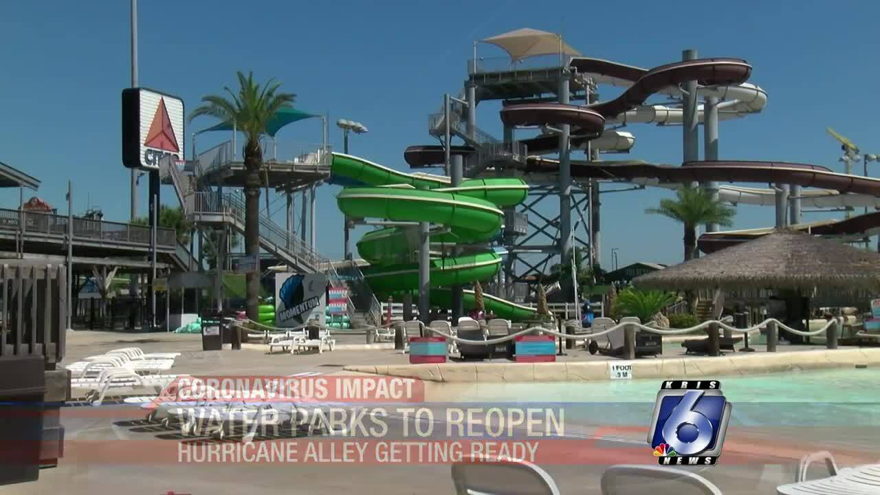 Water parks, overnight state-park camping set to open