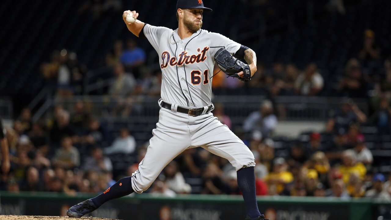 Report: Tigers trade Shane Greene to Braves