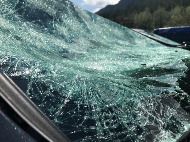 Photos: Baseball-sized hail tears through Colorado Springs, causing injuries and damaging property