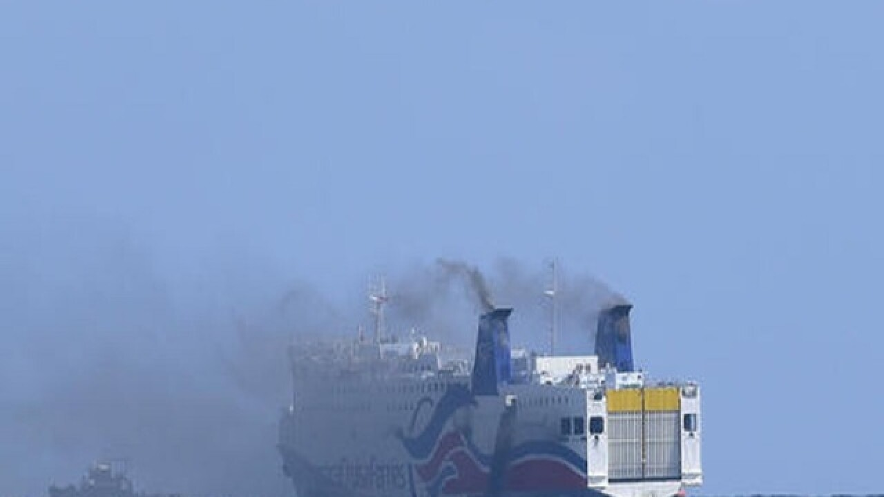 Passengers recall ordeal of burning ship near Puerto Rico