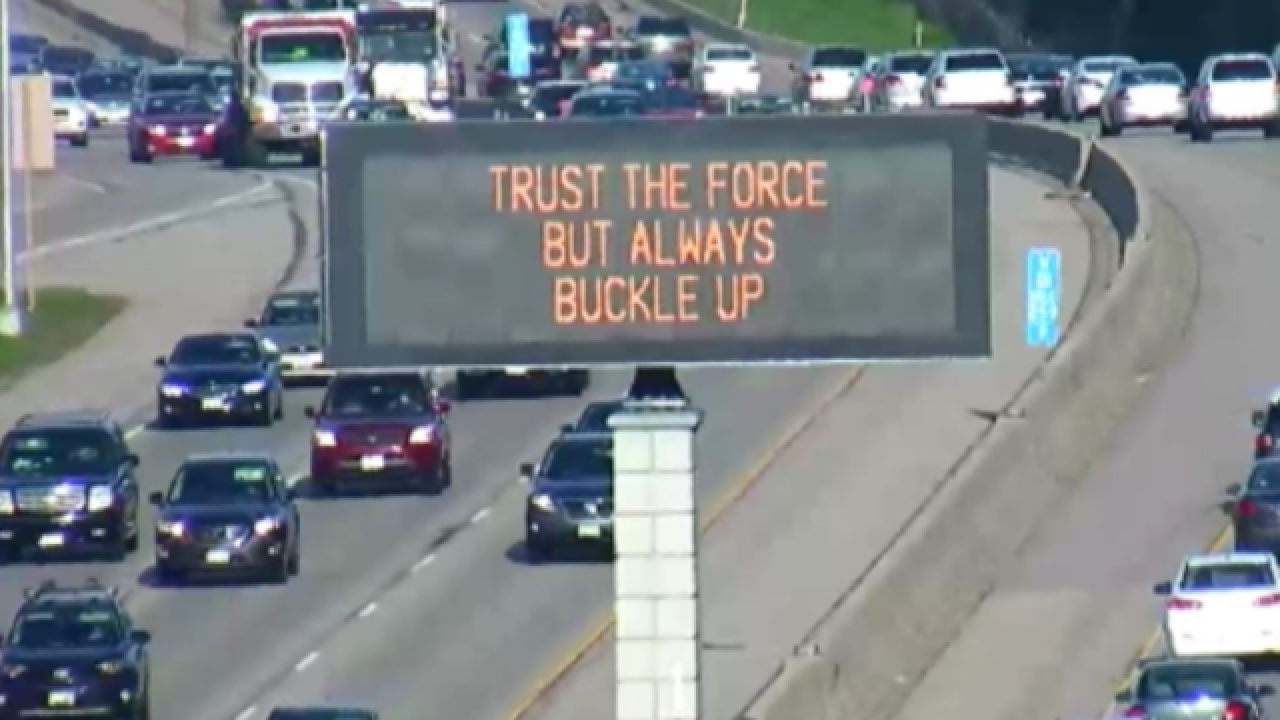 Wisconsin DOT Has Special Message For Star Wars Day