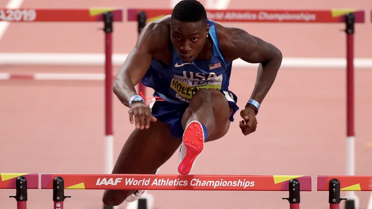 Grassfield High School alumnus Grant Holloway wins The Bowerman – NCAA track & field's top honor