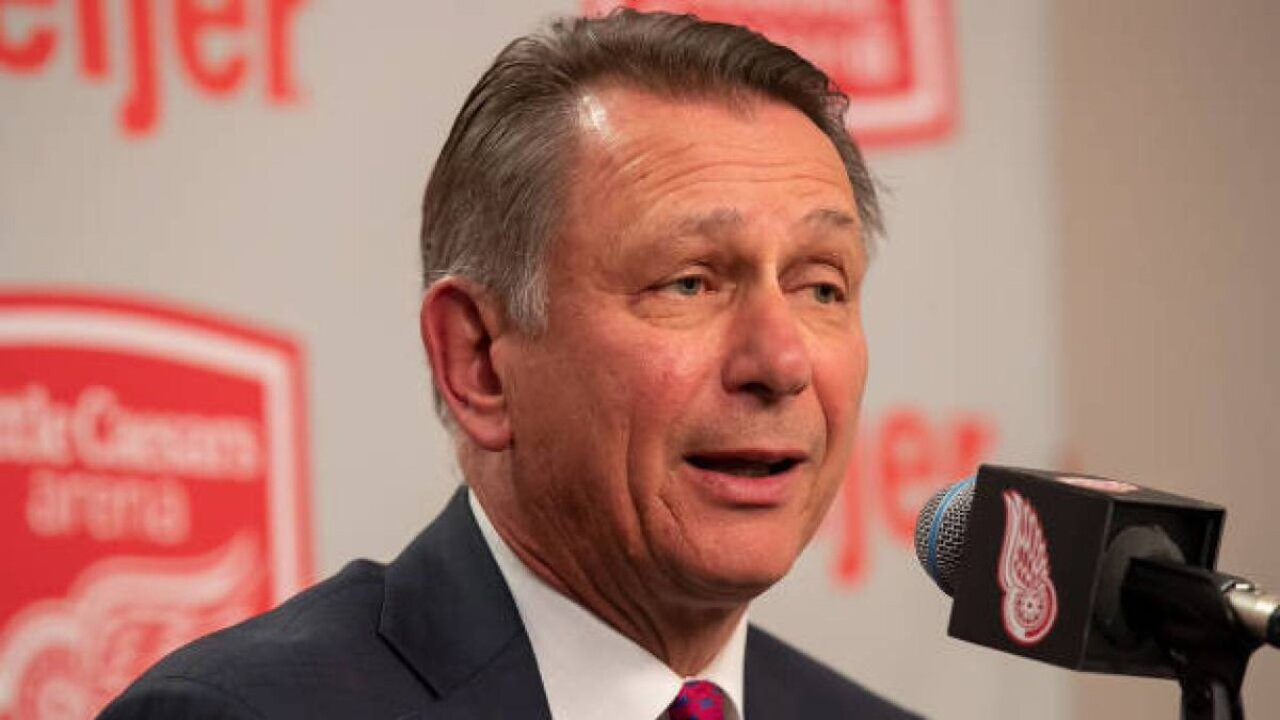 Report: Ken Holland is leaving the Detroit Red Wings
