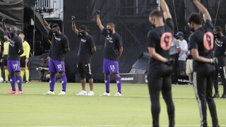 MLS returns with 8-minute moment of silence before kickoff