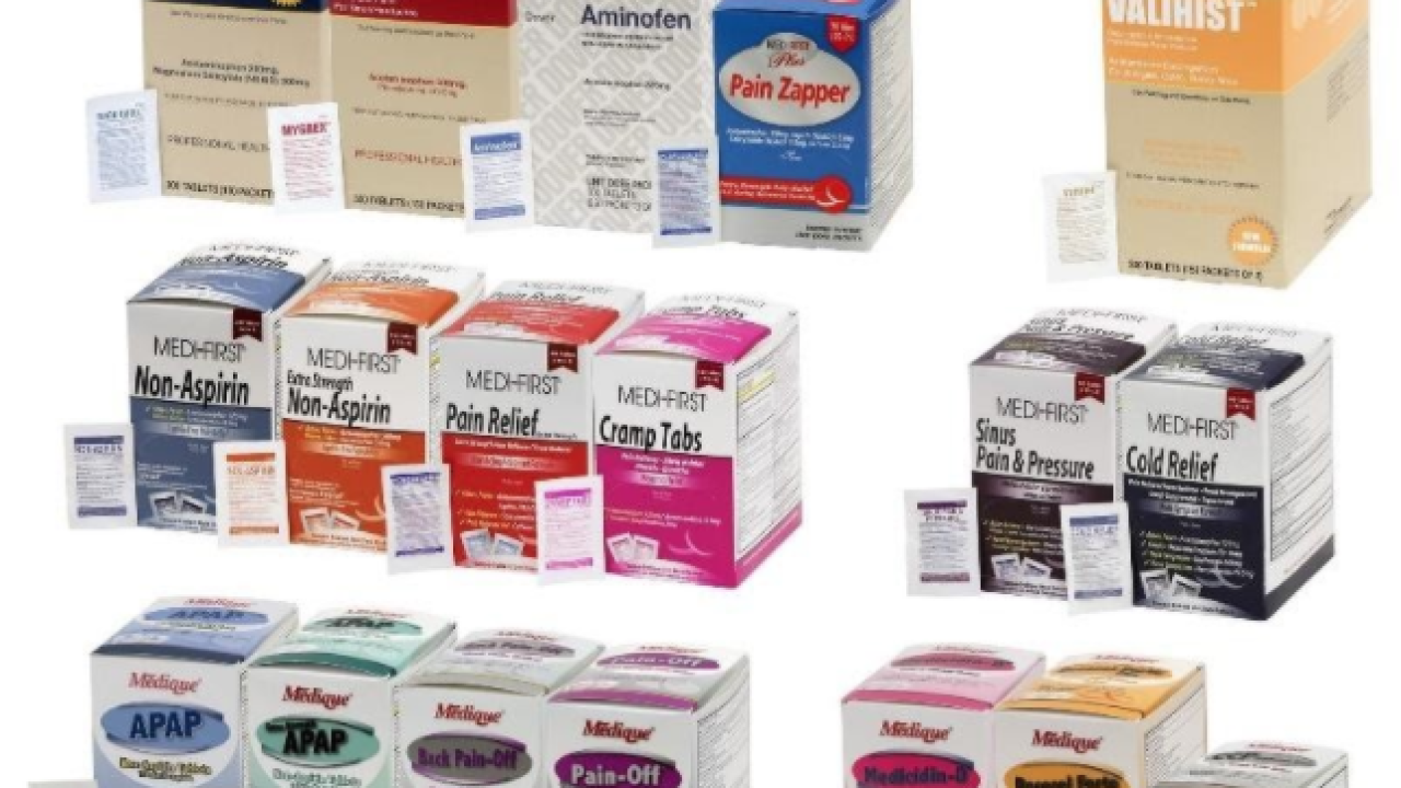 Medique recalls 31 products due to failure to meet child-resistant packaging requirement