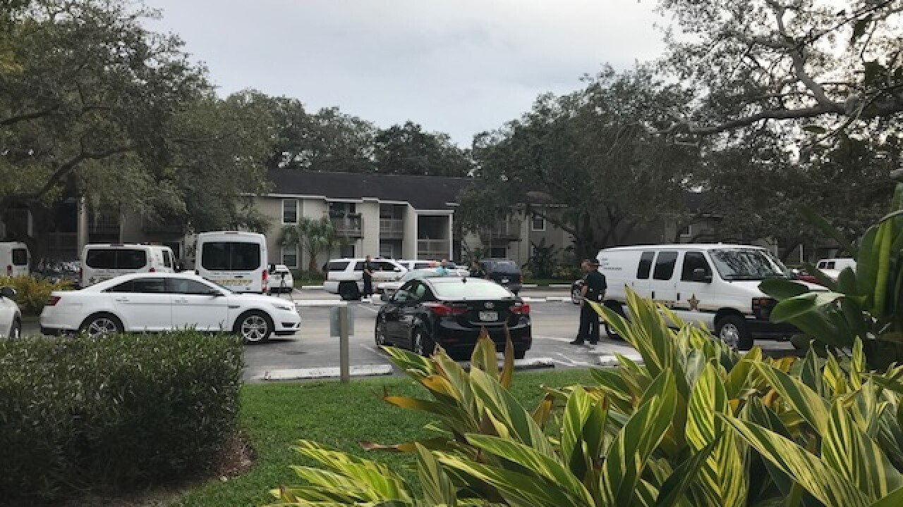 Deputy-involved shooting in Palm Harbor