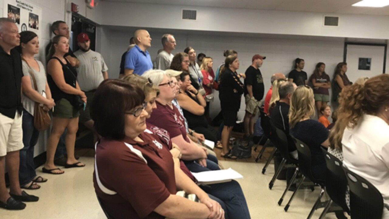 Maury Co. Schools Debate Budget Cuts Night Before Teachers Return To Class