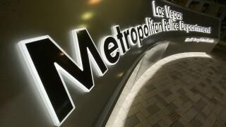 Las Vegas Metropolitan Police Department headquarters in Las Vegas, NV as seen in September 2020