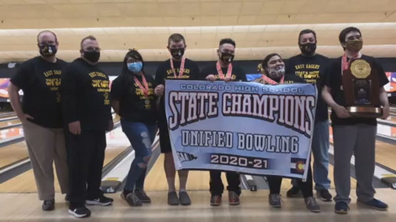 Pueblo East claims first ever CHSAA Unified Bowling title