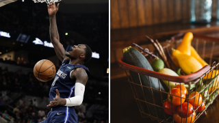 Dorian Finney-Smith drive-thru food distribution event.png