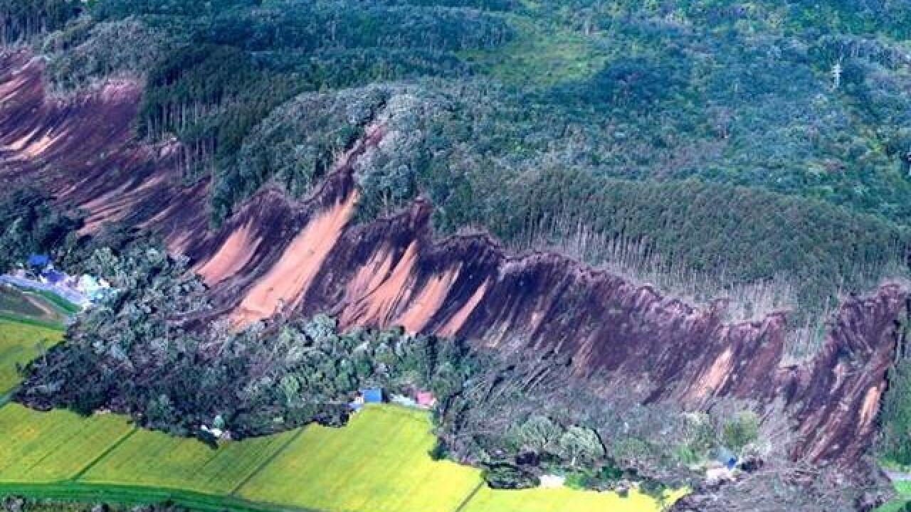 7 dead after earthquake buries homes under landslides in Hokkaido, Japan