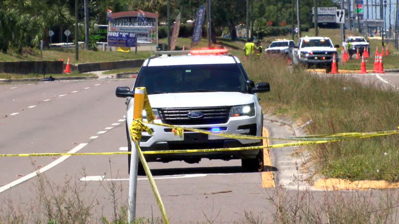 Pasco County carjacking crash