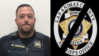 Memorial service for Las Animas Co. Sheriff's Deputy Sgt. Moreno