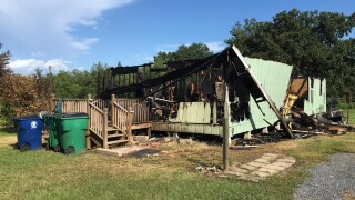 Lyons Point house fire