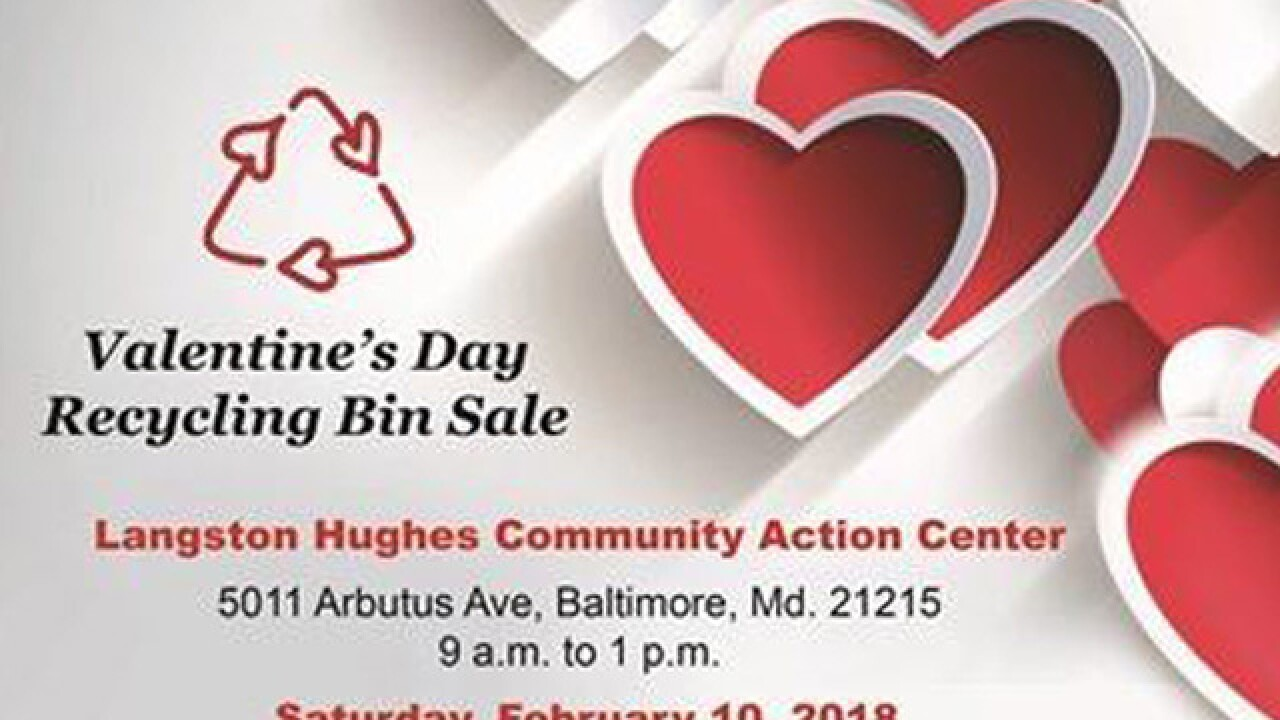 DPW wants you to buy a recycling bin for your valentine