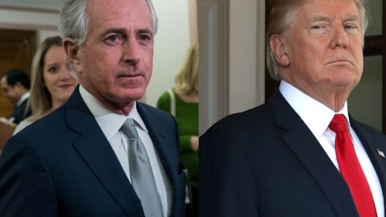 Corker: Trump setting US 'on the path to World War III'
