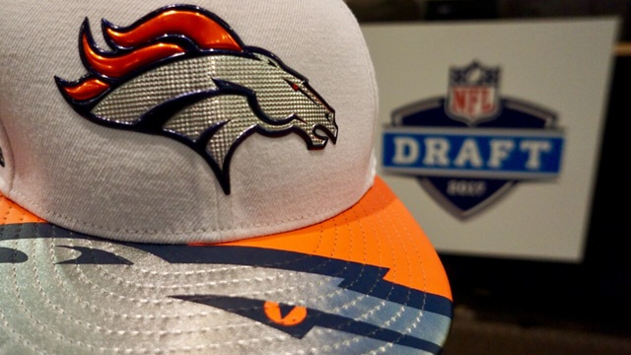 Broncos on the clock for the first round of the draft. Their selection is?