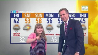 Meet Alivia, March Weather Kid!