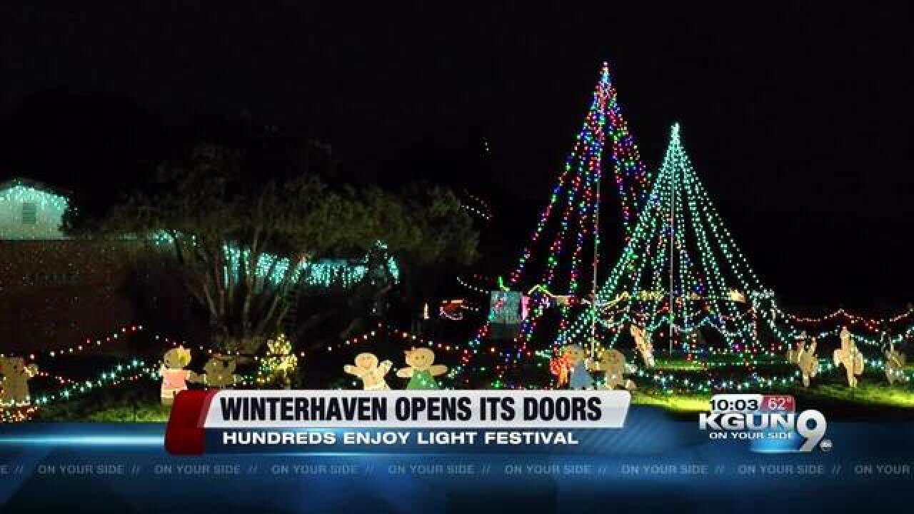 Winterhaven Festival of Lights preps underway