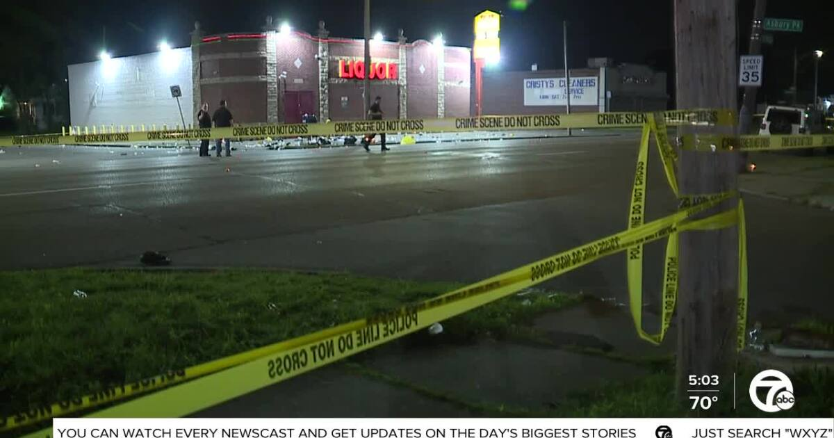 At least 7 shot during candlelight vigil