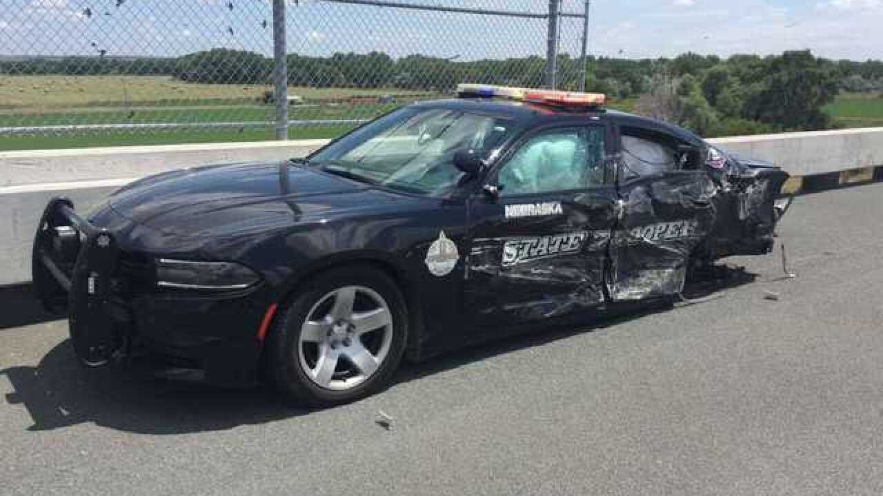Third NSP cruiser hit in less than a month