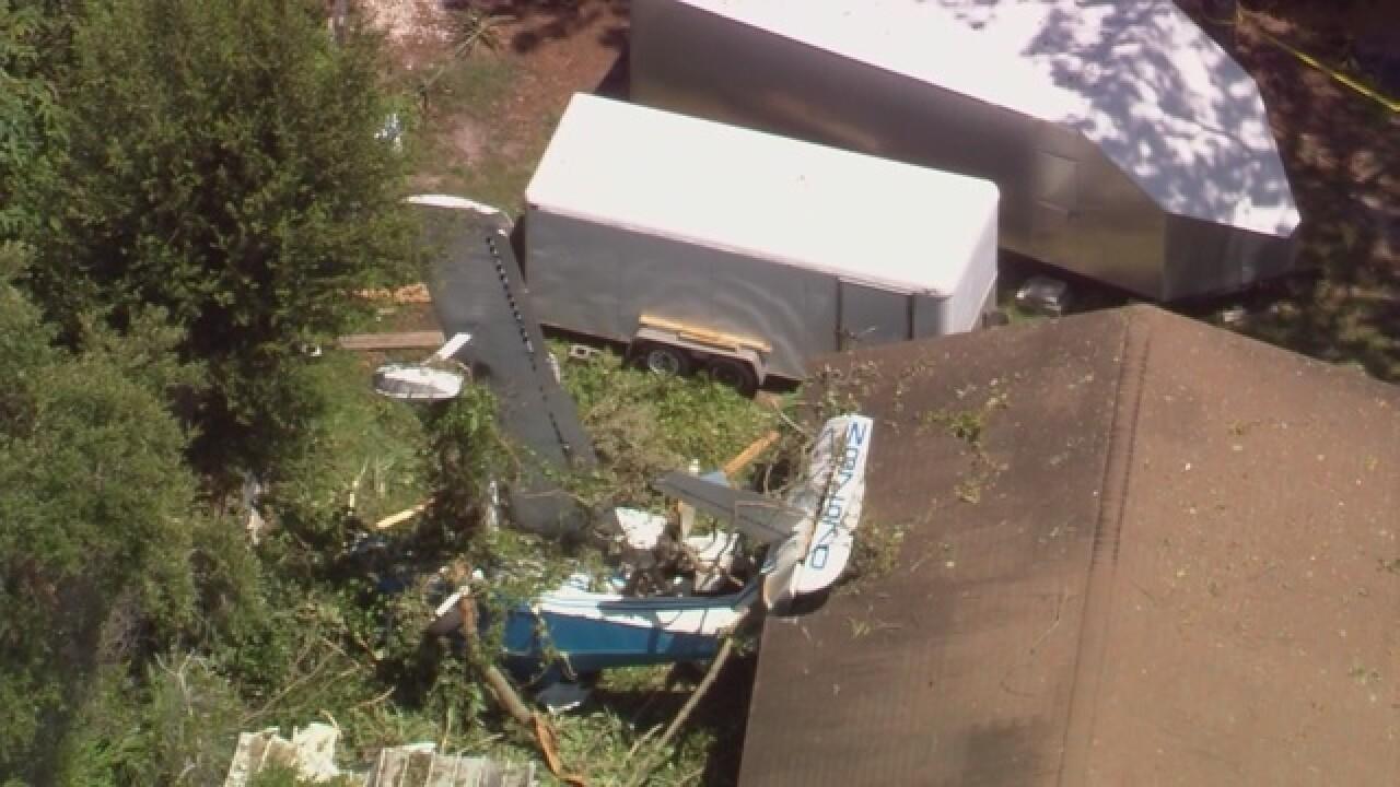 2 injured in Polk County plane crash