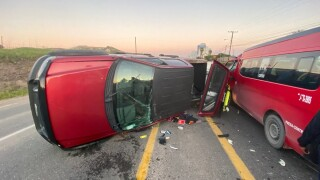 Rob Thomas of San Diego was held in custody in Mexico after a crash Sunday