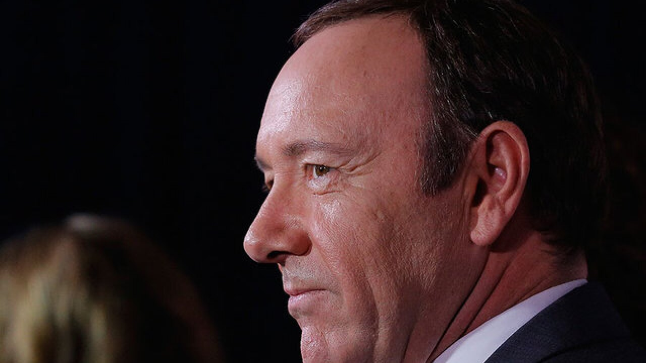 Kevin Spacey seeking 'evaluation and treatment' in wake of sexual assault allegation