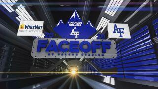 Faceoff at Falcon Stadium