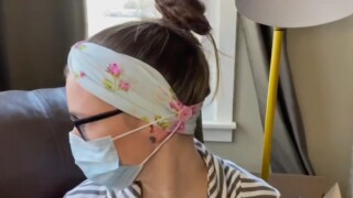 Group produces headbands that protect nurses' ears from elastic on masks