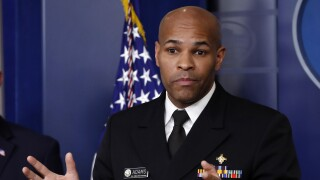 Surgeon general Jerome Adams warns US of `saddest week' and `9/11 moment'