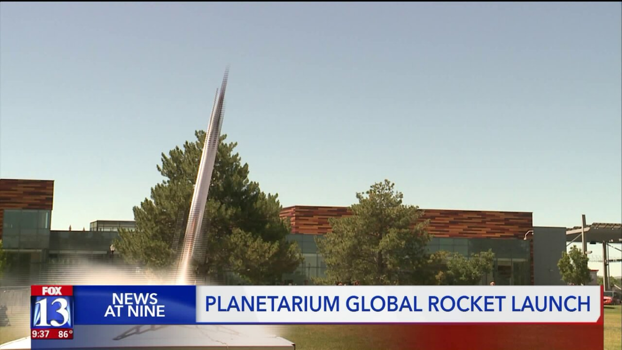 Clark Planetarium celebrates Apollo 11 anniversary with West Jordan rocket launch