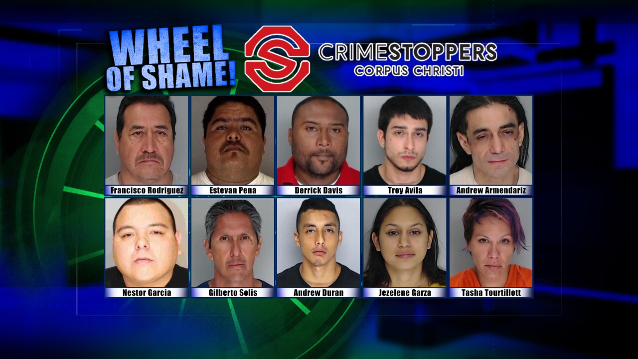 Wheel Of Shame Fugitives: November 6th