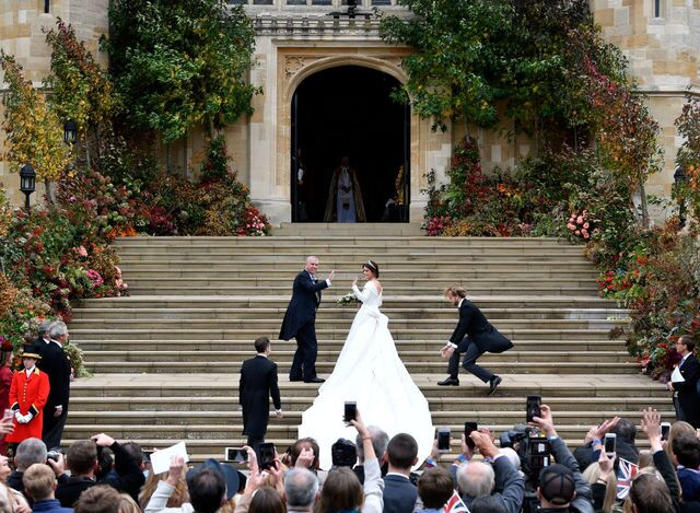 Princess Eugenie marries Jack Brooksbank in second royal wedding of 2018