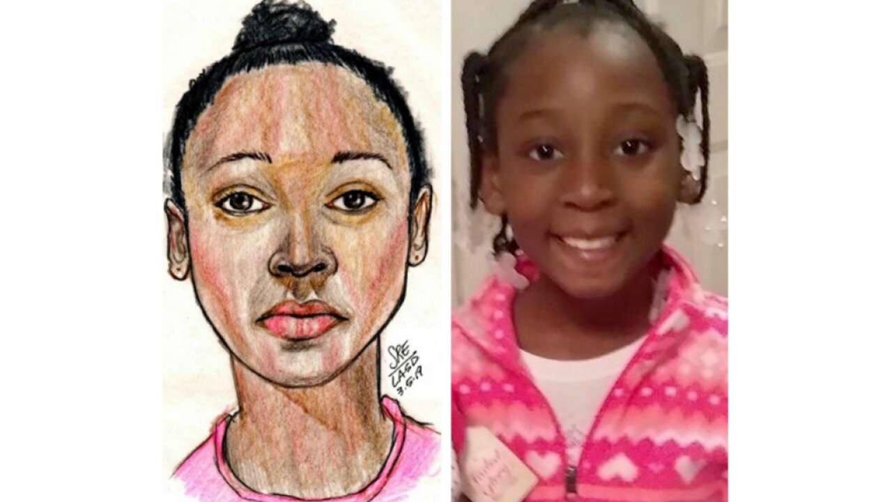California police identify girl's body found in duffel bag as 9-year-old