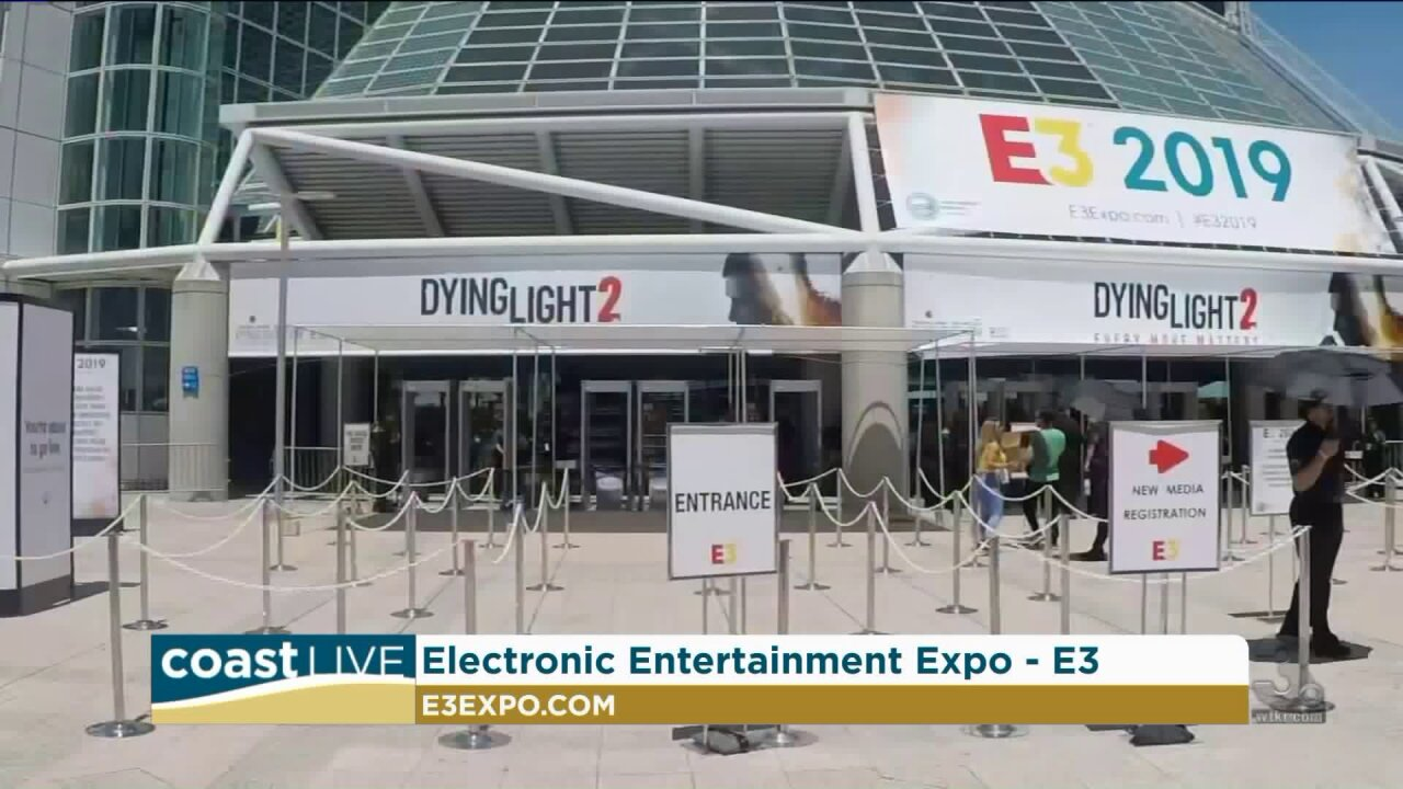 From the world of video games we get a live report from E3 on CoastLive