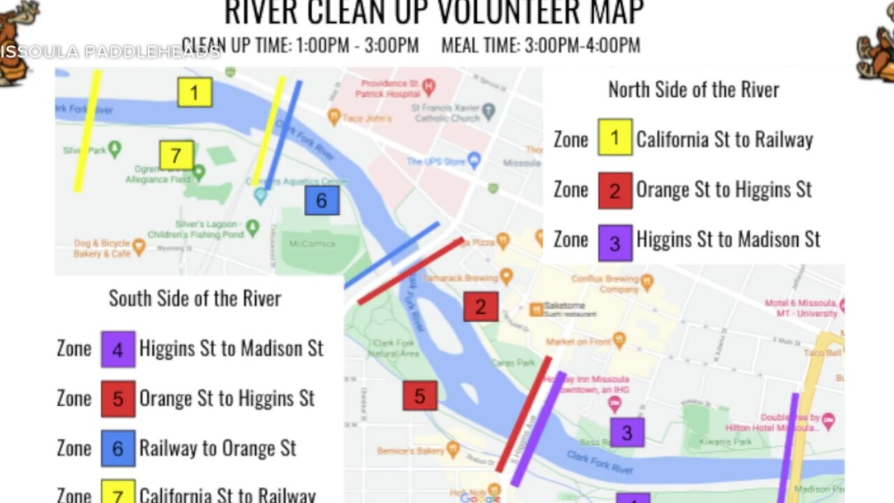 clark for river cleanup map