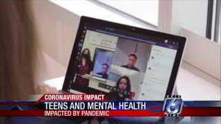 Teens coping with stress through pandemic