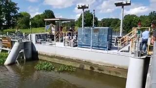 Franklin Canal Floodgate