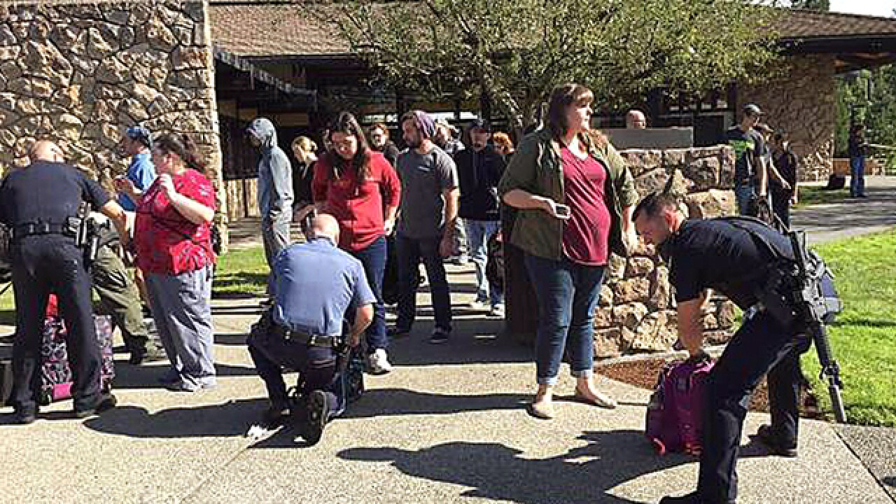 Sheriff: Oregon college shooter confirmed dead